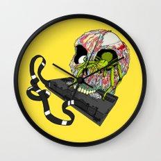 VHS Horror-Phobia by Cap Blackard Wall Clock