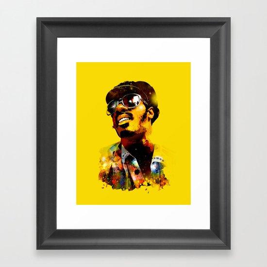 WONDER STAR Framed Art Print