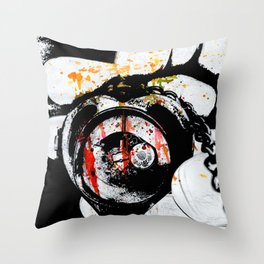 Love Defeated Throw Pillow
