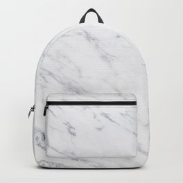 Gray Rich Marble Backpack