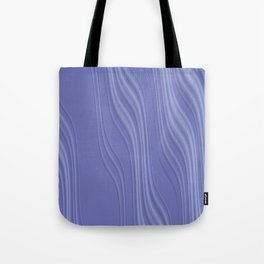 THRALL lilac mauve gradient wave pattern Tote Bag