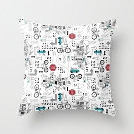 Beep Beep Throw Pillow
