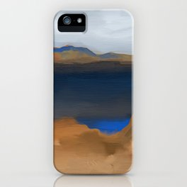 Lake with a Lagoon iPhone Case
