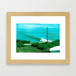 Surfin Framed Art Print