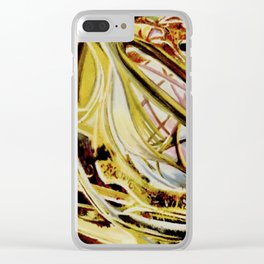 Cosmic II Clear iPhone Case