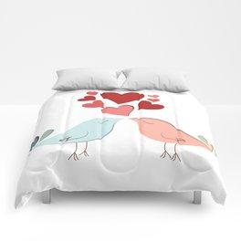 Bird lovers Comforters