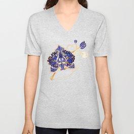 Egyptian Blue :: Orchid Unisex V-Neck