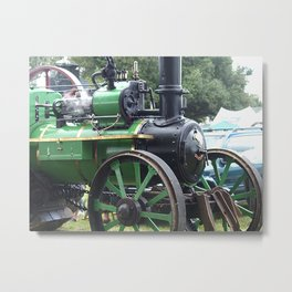 Steam Power 2 - Tractor Metal Print