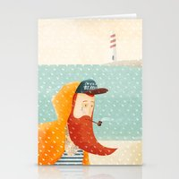beach Stationery Cards featuring Beach by Seaside Spirit