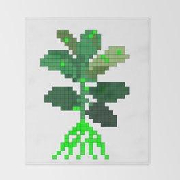 Plant Invader Throw Blanket