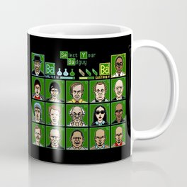 8 Bit Bad Guys Coffee Mug