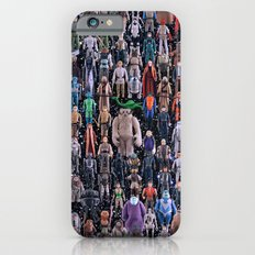 Star Wars Vintage Figures Collage Slim Case iPhone 6s