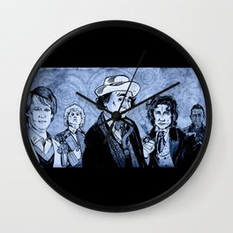 Doctor Who - Five, Six, Seven and Eight (and 'War') Wall Clock