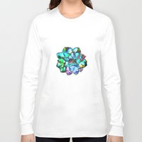 succulent Long Sleeve T-shirts featuring Succulent by Klara Acel