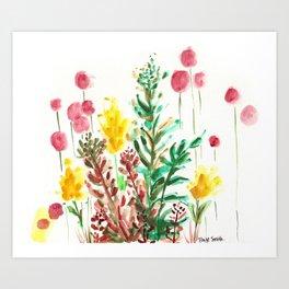 The Garden State Art Print