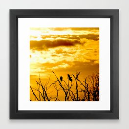 Takeoffs and Landings Framed Art Print