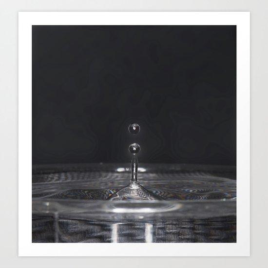 Water Drop's Art Print