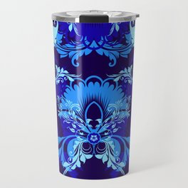 floral ornaments pattern cpt Travel Mug