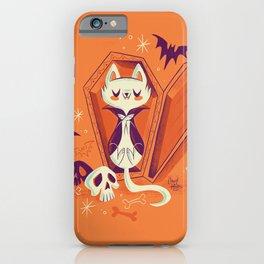 Vampire Kitty iPhone Case