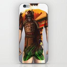 Samurai bodysuit tattoo design iPhone Skin