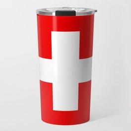 Flag of Switzerland - Swiss Flag Travel Mug