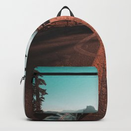 Road to Glacier Point : Yosemite Backpack