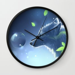 Plant Spirit Wall Clock