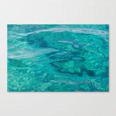 Mediterranean Water Canvas Print