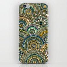 Mandala Mania-Mineral colors iPhone & iPod Skin
