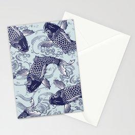 Japanese Koi Carp Stationery Cards