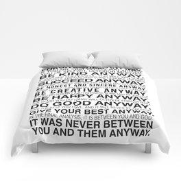Forgiveness Manifesto Comforters