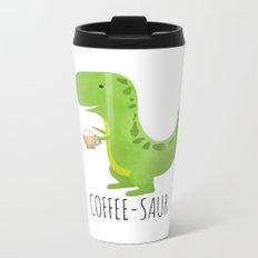 Coffee-saur Metal Travel Mug
