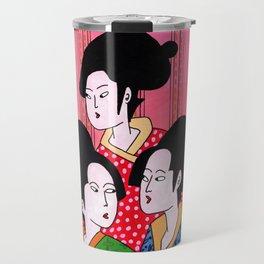 Geisha gossip Travel Mug