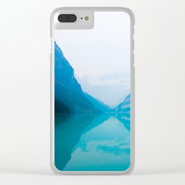 Meeting Lake Louise Clear iPhone Case