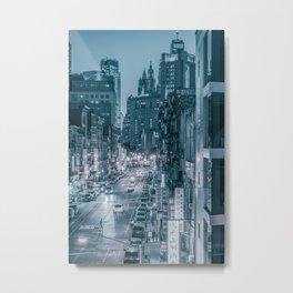 ChinaTown New York Metal Print