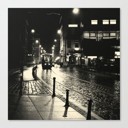 Night Train v2 Canvas Print