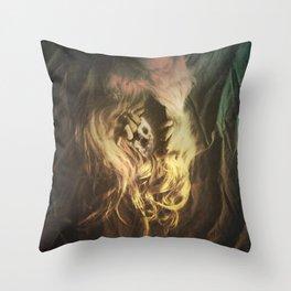 Cosmic Entrance Throw Pillow