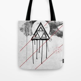 An Omega emplosion  Tote Bag