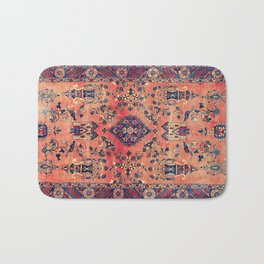 Kashan Central Persian Silk Rug Print Bath Mat