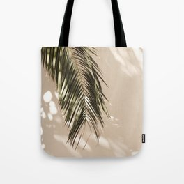 tropical palm leaves vi Tote Bag
