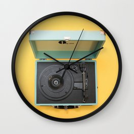 Lionel's Record Player Wall Clock