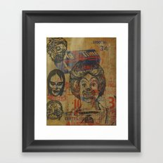 Big Time Framed Art Print
