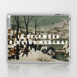 Horchata in the Snow Laptop & iPad Skin