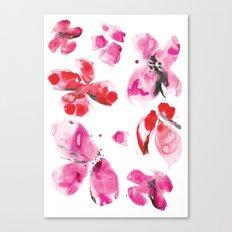 Flower love Canvas Print