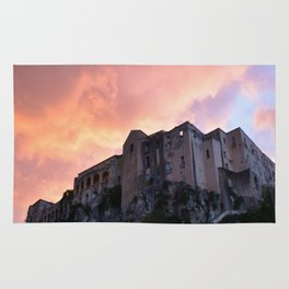 Tropea In Calabria At Sunset Rug