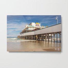 Daytona Pier Joe's Crab Shack Metal Print