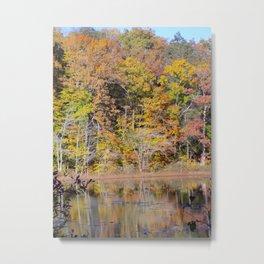 Tree Pastel Metal Print