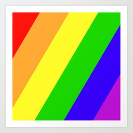 My Favorite Color Art Print