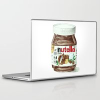 nutella Laptop & iPad Skins featuring Nutella by Owl Feather Studio