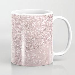 Blush Glitter Dream #1 #shiny #decor #art #society6 Coffee Mug